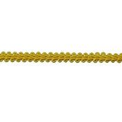 8mm TRIM,FLAG GOLD, 9 YDS