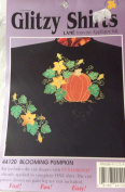 Blooming Pumpkin Lame Iron-On Applique Kit by Glitzy Shirts