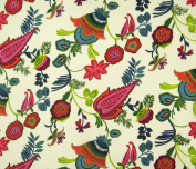 Floral Printed Dressmaking Cotton Fabric 110cm Craft Sewing Supply By The Metre