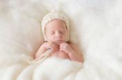 Sunmig Newborn Baby Wool Fluff Photo Props Merino Basket Stuffer Basket Filler Rug Photography Prop