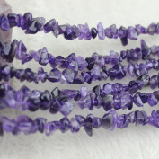 5-8mm Amethyst Beads Chip Beads Loose Gemstone Beads for Jewellery Making Strand 90cm