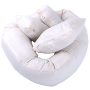 AiXiAng Baby Newborn Photography Props Basket Filler Donut Posing Props Baby Pillow 4 Pcs for Baby Photography