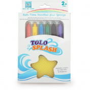 Tolo 50101 - Crayons for the Bathtub Incl. Sponge