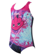 Speedo Tots Girls Endurance 10 Tidal Idol Essential Applique 1 Piece