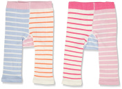 Joules Baby Girls' Lively Tights, pack of 2