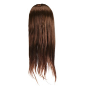 Fulltime(TM) 50cm Hair Training Head Dummy Hair Head Model Long Hair Dolls Head For Hairdressers