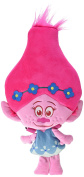 "Trolls - Plush toy backpack princess Poppy 17""/42cm, pink hair - Quality super soft"