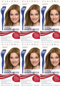 TWELVE PACKS of Clairol Nice N Easy Root Touch Up No 6 Light Brown