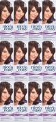 TWELVE PACKS of Clairol Nice N Easy Loving Care 75 Light Ash Brown