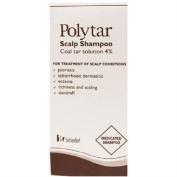 TWELVE PACKS of Polytar Scalp Shampoo 150ml