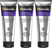 SIX PACKS of Jerome Russell Bblonde Silverising Conditioner 250ml