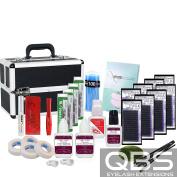 Diamond Silk Professional Extension Eyelash Glue Brush Kit Set with Box Case