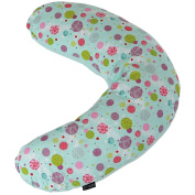 iSafe Mini Nursing Maternity Pillow Aquarius + Vacuum Storage Bag + Pillow Case
