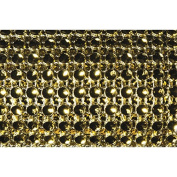 Chaks 0821-81, Ruban de table Diamants étroit 2cm, Or