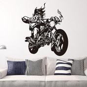 Motorcycle Motorbike Art Vinyl Wall Sticker Living Room Decal Decor Sports