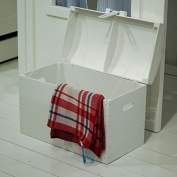 lounge-zone Treasure Chest Box Storage box Adventure box Chest AMSTERDAM white with Storage space 11977
