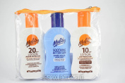 MALIBU TRAVEL PACKS 4SPF TO 20SPF 3X100ML LOTION, OIL, ATER SUN, BRONZING, ALOE VERA * FAST & SAME DAY DISPATCH AS SOON AS PAYMENT IS CLEARED*