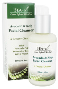 Sea el, Facial Cleanser, Avocado & Kelp, 3.3 oz