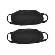 Demarkt Health Care Dust Proof Earloop Face Mask Black 2 Pcs