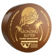 Malibu Tanning Bronzing Butter With Tropical Coconut Fragrance 250ml