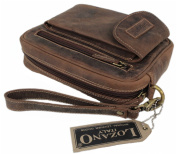 Lozano Men's Organiser Clutch brown brown 14x21x6