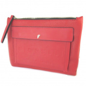 "Pouch bag 'Fiorelli'red - 24x19x2.5 cm (9.45""x7.48""x0.98"")."