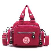 Women Messenger Bag, Rcool Classic Waterproof Nylon Handbag Shoulder Diagonal Bag Messenger Bag Cross Body Bag