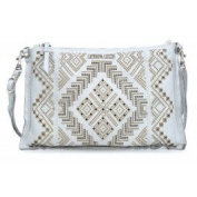 Caterina Lucchi Tramontana Shoulder Bag light grey