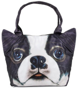 inconnu Women's Top-Handle Bag multi-coloured photo3D chien bouldog