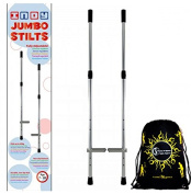 Indy Kids' Jumbo Stilts + Flames N Games Travel Bag