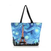 ZENTEII Women Polyester Shopping Handbag Large Capacity Tote