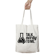 I Love Science Talk Nerdy To Me Official Tote Bag