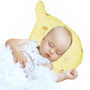 Nursing & Decorative Baby Pillow for Newborns and Infants Elephant Shape Yellow