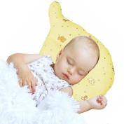 Nursing & Decorative Baby Pillow for Newborns and Infants Elephant Shape Yellow
