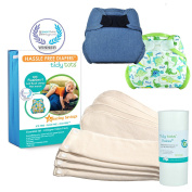 Tidy Tots Nappy Hassle Free 4 Nappy Hook & Loop Essential Set
