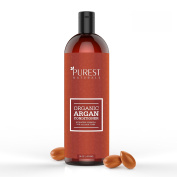 Purest Naturals Argan Oil Daily Conditioner - Best Moisturising, Volumizing Sulphate Free Conditioner for Women, Men & Teens - Revives Dry & Damaged Hair - Made With Organic Ingredients