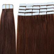 (20pcs - 2.5g/pcs) Tape In Human Hair Extensions - 100% Remy Human Hair