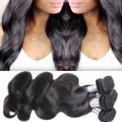Lemoda Body Wave Brazilian Virgin Hair 3 Bundles 100% Unprocessed Human Hair