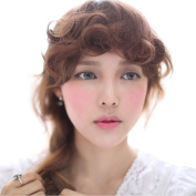 Smilco Hair Bangs New Fashion Highly Realistic Curly Clip In Hair Bangs