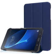 For Galaxy A 7.0 T280N , TOOPOOT Folding Stand Leather Case For  for  for  for  for  for  for Samsung       Galaxy Tab A 7.0 T280N