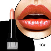 Magical Halo Waterproof Long Lasting Matte Cream Shimmer Lipstick Nude Vampire Makeup Retro Red Batom Blue