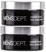 2 tubs Mens Dept Forming Paste - 70ml each by MEN'SDEPT