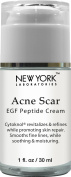 New York Laboratories Acne Scar Removal Cream with EGF Peptide-Cytoknol, Helps with Skin Repair, Reduces the Appearance of Acne Scars, Fine Lines & Wrinkles, 30ml