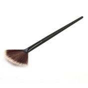 Toraway Pro Fan Face Portable Slim Professional Makeup Brush