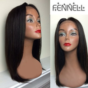 Fennell Silky Straight Human Hair Lace Front Wigs With Baby Hair 100% Natural Colour Human Hair Full Lace Wigs For Women