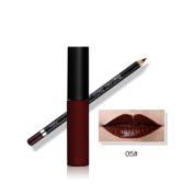 Tenworld Lip Gloss Pencil Set Long Lasting Lipliner Lipstick Combination