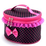 Cosmetic Holder Handbag, Misaky Portable Travel Toiletry Makeup Bag Organiser