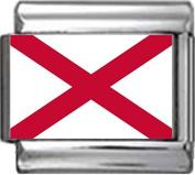 ST PATRICKS FLAG Photo Italian Charm 9mm - 1 x PC228 Single Bracelet Link