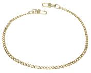 k-craft BG01 135cm Purse Metal Chain Strap Replacement Gold Crossbody Shoulder Strap Handbag