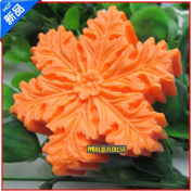 Pinkie Tm Snowflake silicone soap mould form for soap Clay mould Salt carving mould wholesale